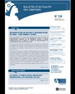 Bulletin d'actualité des greffiers