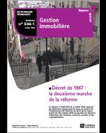 Décret de 1967 : la deuxième marche de la réforme
