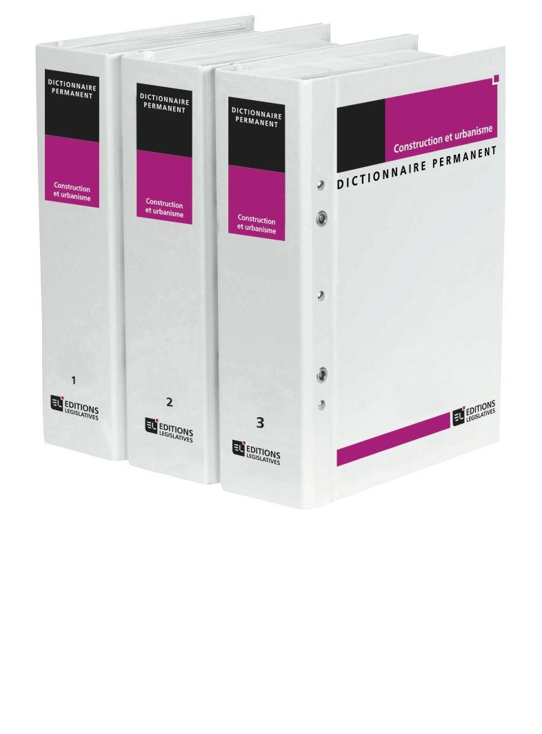 Dictionnaire Permanent Construction et urbanisme