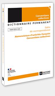 Table de correspondance Nomenclature d'activités française Conventions collectives