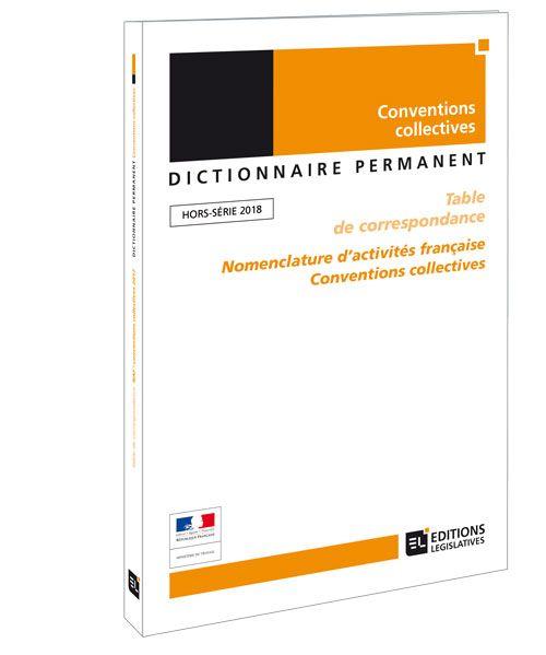 Conventions Collectives Nomenclatures Editions Legislatives
