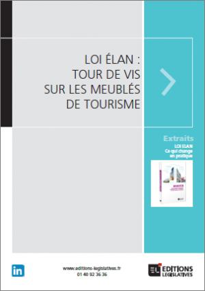 Loi Elan Et Meubles De Tourisme Editions Legislatives