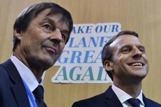 Environnement Par Rapport A Ses Promesses De Campagne Qu A Fait Emmanuel Macron En Un An