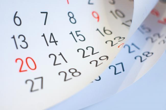 Les agendas à retenir sur le mois de septembre