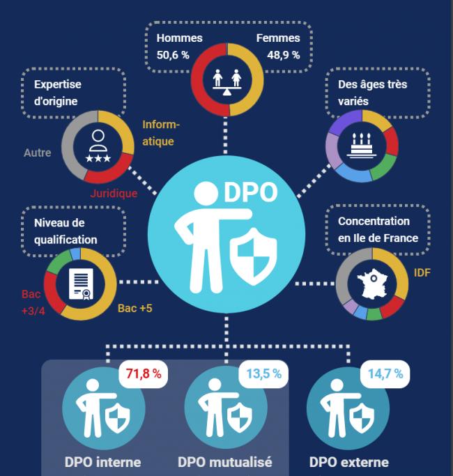 [Infographie] Qui sont les délégués à la protection des données ?