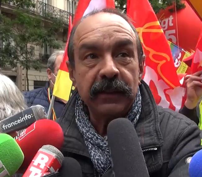 """[Vidéo] P. Martinez (CGT) : """"Nous demandons une revalorisation de tous les minimas de branche"""""""